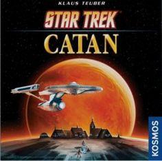Mayfair Games Star Trek Catan Board Game in Board Games. New Star Trek, Star Wars, Star Trek Tos, Settlers Of Catan, The Settlers, Star Trek Board Game, Arcade, Star Trek Gifts, Catan Board Game