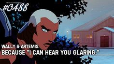 One of the best lines in young justice.
