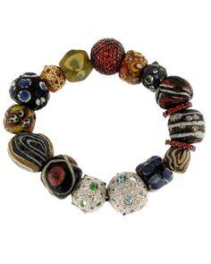 Sally Sohn - Mixed Stone Bracelet Love big gemstone jewelry www.tanyalochridge.com.