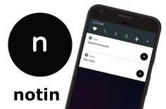 Ukládejte si poznámky jako notifikace s aplikací Notin - https://www.svetandroida.cz/poznamky-jako-notifikace-notin-201709/?utm_source=PN&utm_medium=Svet+Androida&utm_campaign=SNAP%2Bfrom%2BSv%C4%9Bt+Androida