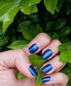 #ElectricBlue #Gelnails #Manicure