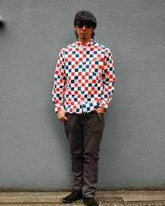 [TOPS] VANS × SD Checker Button-Down Shirt PRICE : ¥17,800(+Tax) RELEASE :Apr.