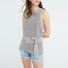 Tie-Wrap Sweater Tank