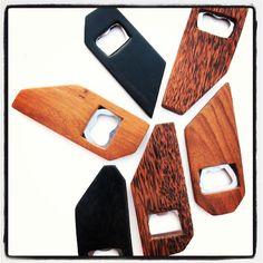 Nyumbani design wooden bottle openers