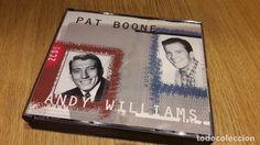 PAT BOONE / ANDY WILLIAMS. DOBLE CD MASTER-1996 / 36 TEMAS / CDS DE LUJO.