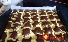 Ein schneller, Rezepteeinfacher und gleichzeitig vom Aussehen her luxuriöser Quarkkuchen. Chocolate Cake Recipe Easy, Homemade Chocolate, Chocolate Recipes, Easy Cake Recipes, Sweet Recipes, Dessert Recipes, Czech Recipes, Different Cakes, Food Cakes