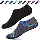[3rd Upgraded Version] CIOR Durable Sole Barefoot Water Skin Shoes Aqua Socks For Beach Pool Sand Swim Surf Yoga Water Aerobics