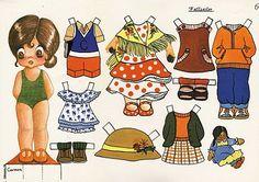 Las muñecas recortables de María Pascual.