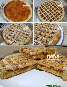 Hot pins: 5 cute and easy spring desserts - Cadbur Apple Pie Recipes, Cake Recipes, Apple Pies, Cakes Plus, Spring Desserts, Lemon Cookies, Turkish Recipes, Best Appetizers, Food Cravings