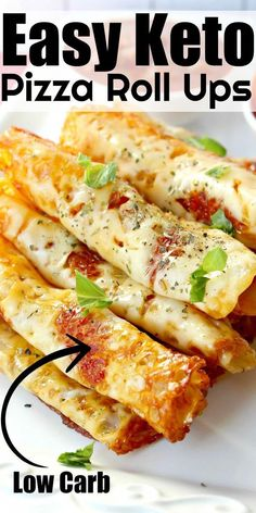 Kid-friendly Keto Pizza Rolls Ups Easy low carb appetizer or snack! - Low Carb Keto - Ideas of Low Carb Keto - Kid-friendly Keto Pizza Rolls Ups Easy low carb appetizer or snack! Healthy Low Carb Recipes, Low Carb Keto, Diet Recipes, Cooking Recipes, Low Carb Starter Recipes, Low Carb Pizza, Recipes For Two, Smoothie Recipes, Diet Pizza