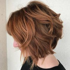 Red-brown bob by Erica Rachel
