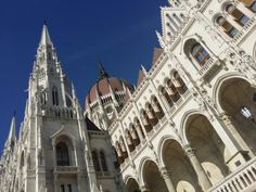 hungarian parlament - love the gothic inspired architecture, the details are gorgeous