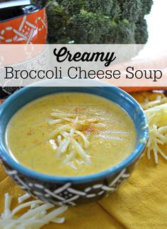 I've been cooking up a storm lately. And so I cook soup. I want bone broth and veggies and cheese. I want warm and creamy and soothing. I can't really ask for a better soup than this to settle in and cozy up with: a creamy broccoli-cheese soup that is… Ninja Blender Recipes, Pureed Food Recipes, Real Food Recipes, Cooking Recipes, Healthy Recipes, Vitamix Recipes, Bariatric Recipes, Skillet Recipes, Cooking Tools