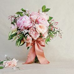Springtime Pink Bouquet,  Southern Living Weddings, Photo by Stephen Karlisch