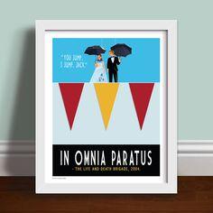 In Omnia Paratus - Gilmore Girls Art Print Poster Quote