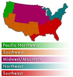gardening tips for each month by region...how useful