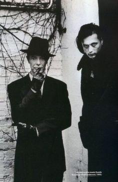 David Bowie & Bret Anderson