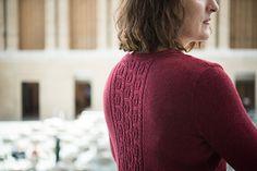 Dalriada by Amy Herzog - knit cardigan using Bijou Spun 100% Yak Sport Weight Yarn