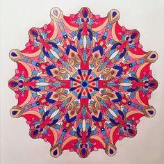 Mandala in Prismacolor Premier and Verithin Pencils