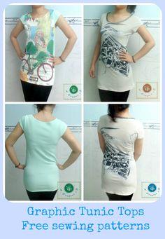 tunic tops free patterns