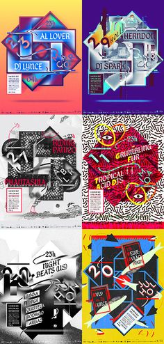 Royal Studio: Indiesciplinas Poster Series