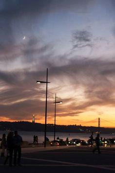 Fim de tarde #Lisboa #Portugal