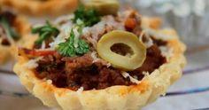 Tartelettes / viande hachée