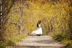 My Fall Wedding in Aspen. :-) Now featured in Luxe Mountain Weddings.