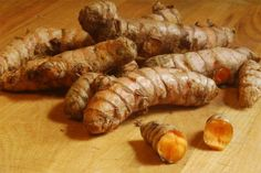"""How to grow turmeric. It's pronounced TUR-MER-IC, not """"too-meric"""" and is also called Pink Blooming Ginger. (photo by h-bomb)"""