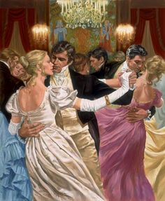 Popp, Walter Robert (b,1920)- Regency Ball