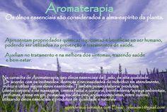 imagens sobre aromaterapia com informações - Pesquisa Google