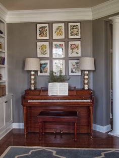Right up my alley: Art above the piano