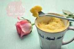 Pich à la fraise: Mug cake au citron