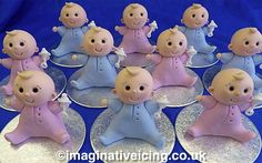 Handcrafted sugar Icing babies available at our real world shops as and when in stock.... keep your eyes peeled!