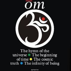 The Om is a Sanskrit symbol that is used in meditation and is representative of the Hindu religion.