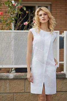 White summer dresses: The charm and femininity of snow-white dresses - vay đầm - Snow White Dresses, White Linen Dresses, White Dress Summer, Cotton Dresses, Summer Dresses, Simple Dresses, Casual Dresses, Short Dresses, Fashion Dresses