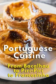 Portuguese Cuisine: From Bacalhau to Piri-Piri to Francesinha - via @nomadbeautiful 23.08.2015 | The combination of the familiar and the exotic is the core of a Portuguese meal. (At least, this is what our palates could identify during our three-week adventure around the country.) This isn't enough to taste all of the national and local specialties, but we'll gladly give you some tips on dishes not to be missed while in Portugal.