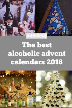 The best alcoholic advent calendars From quirky flavoured gins, to sparkling to beer flavoured chocolate, and a whole calendar devoted to spicy vodka. these are the boozy advent calendars you need to try Alcohol Advent Calendar, Advent Calendars, Best Alcohol, Alcohol Gifts, Calendar 2018, Calendar Ideas, Chocolate Advent Calendar, Best Beer, Inspirational Gifts