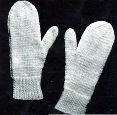1000+ images about 2 needle mittens on Pinterest Mittens pattern, Mittens a...