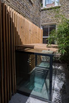 """""""The bath is designed to follow the Japanese ritual of bathing, so it is meant for relaxing and warming oneself rather than cleaning,"""" - Gary Tynan, Architect"""
