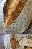 === Ingredience === ==== Těsto ==== kvásek na chléb 335 g chlebové pšeničné mouky 30 g chlebové žitné mouky 10 g celozrnné pšeničné mouky 210 g vody 9 g soli ==== kvásek na chléb ==== 6 g darovaného chlebového kvásku (nebo kvásku ušetřeného z minulého pečení) 65 g chlebové žitné mouky 80 g vody Všechny ingredience smíchat a nechat zrát v pokojové teplotě 18-20 hodin před pečením. === Příprava === Smíchejte všechny igredience kromě soli. (Já jsem to dělal na pomalou rychlost v robotu)…