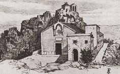 Sanktuarium na Mentorelli w 1857r.