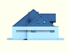DOM.PL™ - Projekt domu DM Opałek X 2G CE - DOM GM3-32 - gotowy koszt budowy Minecraft Pe, Cabin, House Styles, Home Decor, Templates, Prefabricated Home, Modern Home Plans, Yurts, Interiors