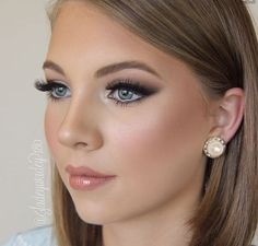 Evening Wedding Makeup