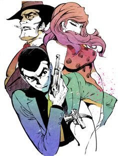 lupin the third the woman called fujiko mine | Tumblr