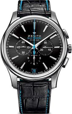 Zenith Captain Chronograph Mens Wristwatch Model: 03.2119.400-22.C720