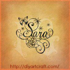 Sara heart design - Bing Images