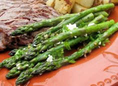 Roasted Asparagus With Feta Recipe - Greek.Genius Kitchen