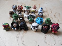 Clay Wars, Star Wars Inspired Mini Figures, Choice of 3 characters