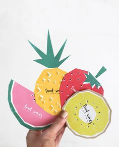 These fruit cards are so cute (and they're a free printable!)